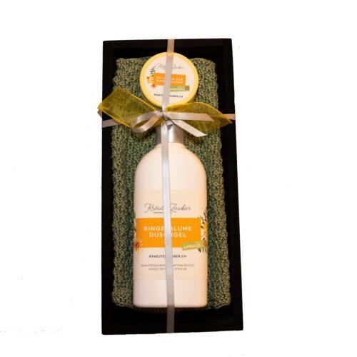 Kräuterzauber-Geschenkset-Ringelblume-Tablet