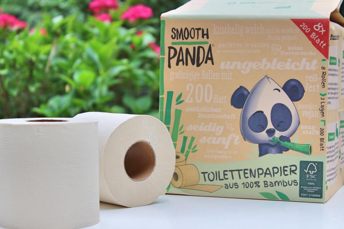 Toilettenpapier Smooth Panda